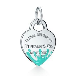 Tiffany & Co medium heart splash